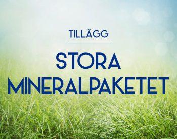 Tillägg Stora Mineralpaketet